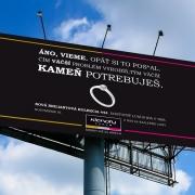 Jesenná kampaň - billboard